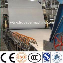 3200mm corrugado Fourdrinier acanaladuras Kraft Liner tejido copia A4 de la cultura en la cara de impresión de la escritura de la maquinaria de fabricación de papel