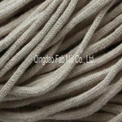 Cable trenzado de cáñamo para el cordón (HBR-5.6)
