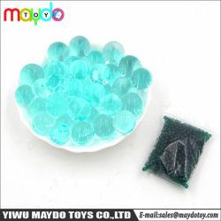 Commerce de gros de l'eau vert noirâtre Beads boules de cristal perles perles de gel du sol gelée Orbeez Toy