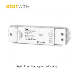 La meilleure nouvelle 4-en-1 LED Amplificateur pour contrôleur de bande LED RGBW