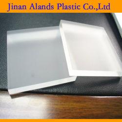 Diverses Taille double claire Frost Cast feuille acrylique