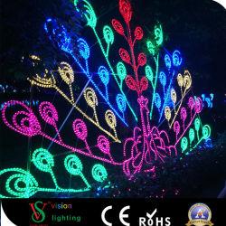 2D-Водонепроницаемый для использования вне помещений рождественские украшения лампа