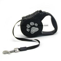 Cable de perro retráctil con estrás alimentación de animales de compañía de productos PET
