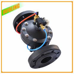 PA6 Vanne pneumatique hydraulique en nylon matériau 2 façon antigouttes à membrane pour un usage industriel