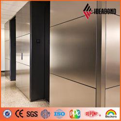 De façon économique de 4 mm du panneau composite de zinc titane pour la décoration