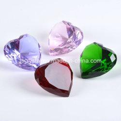 Coração de cristais de decoração de casamento nova chegada! ! ! !
