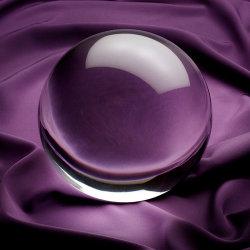 La magia de la transparencia de bola de cristal Decoración ilustraciones