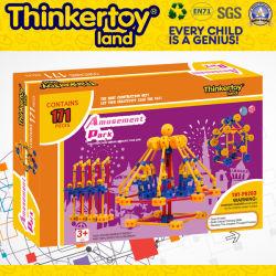 Prédio educacional de plástico brinquedo para crianças