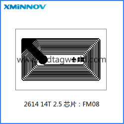 15693 Antenne RFID de gravure avec taille 24*16mm