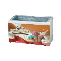 Мороженого Гелато Экономи морозильной камере в груди, может, место на кухонном столе или отдельно стоящая тип