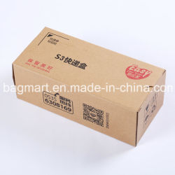 Custom плоские складные переработанных гофрированный крафт-бумаги упаковочной коробке, одинарного или двойного/E Настенные коробки