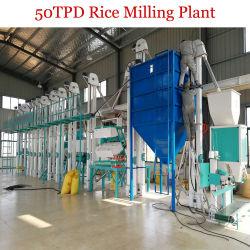Mini Auto vaporizado, molino de arroz arroz Planta de fresado|máquinas de video de trabajo