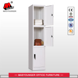 Hot Selling Modern Fashion Three Doors Storage Locker Cabinet/Locker
