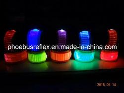 Bande de poignet r3fléchissante de la sûreté LED