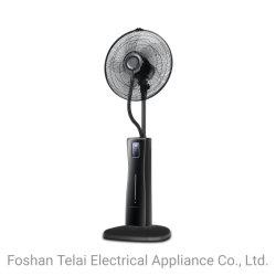 Resfriador de Ar a função de névoa de ventilador de pedestal com controlo remoto