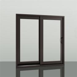 Fenêtres coulissantes en verre en aluminium profilé en aluminium portes français de levage Double vitrage feuilleté trempé Biflold de pliage