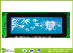 240x64 Módulo LCD gráfico 8 bits MCU, T6963, 20Conector de pinos, COB Stn painel LCD