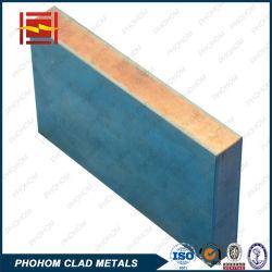 Metallo placcato placcato del materiale composito dei piatti dei piatti del bimetallo