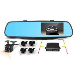 Specchio doppio DVR della macchina fotografica del video dell'automobile di HD 1080P della macchina fotografica sensore di parcheggio