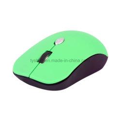 使用できるオフィス、4Dボタンの、ワイヤーで縛られたおよび無線モデルのための2018新しく多彩な無線マウス