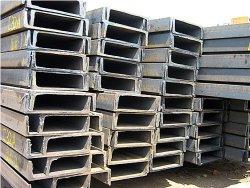 Tangshan-Lieferanten-galvanisierter/schwarzer Stahlu-profilstäbestahl-Aufbau