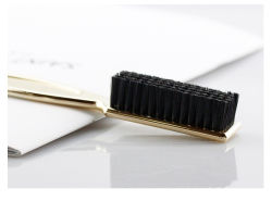 플라스틱 손잡이 작은 머리카락 및 남성용 수염 브러쉬 제한적 맞춤형 로고