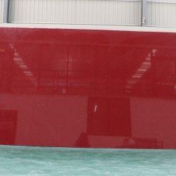 Brilho de moda em mármore vermelho Espelho de pedra de quartzo Artificial Quartz
