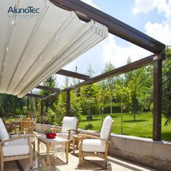 Tenda ritrattabile di alluminio motorizzata Rainproof del PVC di bellezza con il LED o lo schermo laterale