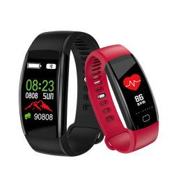 Il braccialetto IP68 di forma fisica di F64hr impermeabilizza la fascia astuta per il telefono mobile