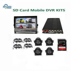 4 채널 통신로 높은 정의 하드 디스크 이동할 수 있는 DVR 이동할 수 있는 차 DVR 1080P 소형 DVR 기록병