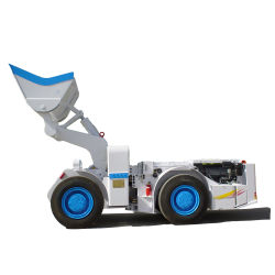 Wj2/Wj3 坑内採掘用スクープトラム採掘装置 / 機械用 LHD ホイールローダトラック
