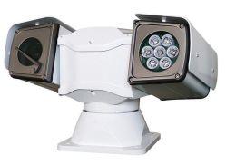 Résistant aux chocs de voiture Mobile monté Caméra IP Infrarouge PTZ HD