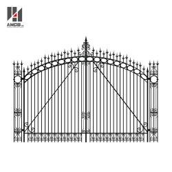 高品質によってカスタマイズされる熱い電流を通された金属のドアのゲートの錬鉄のゲート