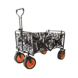 Carrello pieghevole fuori strada piegante di qualità superiore esterno del carrello della mano del vagone