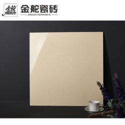 Azulejos de porcelana de color beige 60*60cm de baldosas de mármol pulido el aspecto de la superficie Grossy Salón