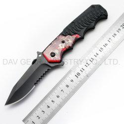 환상 시리즈 4.5 EDC 옥외 야영 생존 및 자기방위를 위한 고품질 420 스테인리스 잎 그리고 알루미늄 손잡이를 가진 인치에 의하여 닫는 주머니 칼