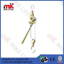 Câble métallique de poignée de câble de poulie de la main de l'extracteur de cliquet