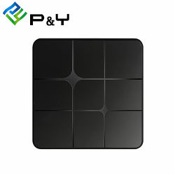 Ricevente Android del cavo di Digitahi TV della casella superiore stabilita di Quadrato-Memoria Android della Cina Media Player T96 Marte S905W 1g 8g