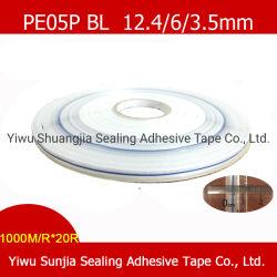 La cinta de sellado, impresa en Línea Azul, la cinta, cinta de embalaje, Cintas Personalizadas, bolsa reutilizable cinta selladora de bolsas de OPP (12.4/3.5/6mm)