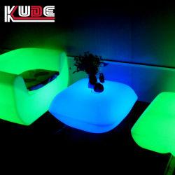 Oreiller LED Table et chaises Salon canapé avec commande à distance