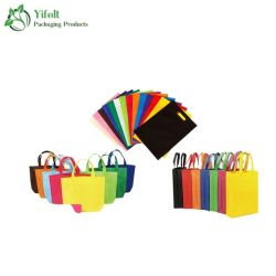 Alavanca de Corte Personalizado Non-Woven Cores Bag para publicidade