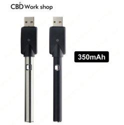 Commerce de gros CBD Vape Pen mini chargeur USB Chargeur de batterie de préchauffage e cig Lu3