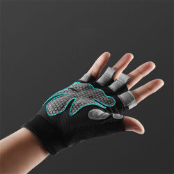 Alta Qualidade Ginásio Fitness Workout Meia Luva dedo