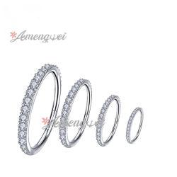 Cirúrgico importado de Aço Inoxidável Corpo Jóias Jóias Anéis Multiuso Ear a aba do anel de segmento do anel o Anel do nariz