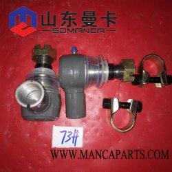 Sinotruk HOWO Shacman FAWのトラックのエンジン部分の球接合箇所Wg9925430200