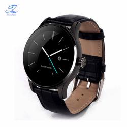 K88h Bluetooth Smart Watch Classic Health Metal SmartWatch معدل نبضات القلب مراقبة هاتف Android iOS