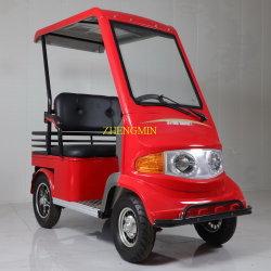 Nouvelle arrivée 4 roues de loisirs pour adultes de la mobilité électrique en tuk tuk 60V500w avec la CE et le toit