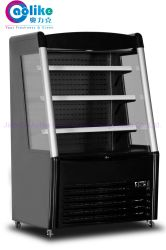 System&Dixell 동적인 냉각 관제사를 가진 미국식 소형 열려있는 정면 전시 냉각기
