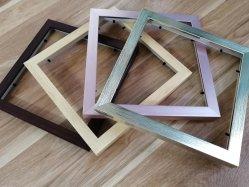 9X9inch Luxux-PS Foto-Rahmen mit nachahmendem hölzernem Korn