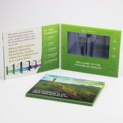 2.4, 4.3, 5, 7 10.1 Zoll Mini-Liebe LCD-Bildschirm-Video-Player-Marketing-Buch-Broschüre-Faltblatt-Baugruppen-Kasten-Maschinen-Karte USB-TFT Digital unbelegte